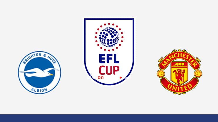 Brighton vs Manchester Utd Preview and Prediction Live stream EFL Cup 1/8 Finals 2020/21
