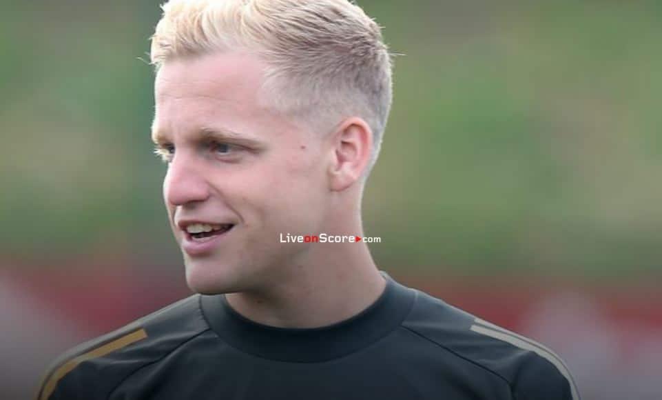 Van De Beek: it's a big chance for him