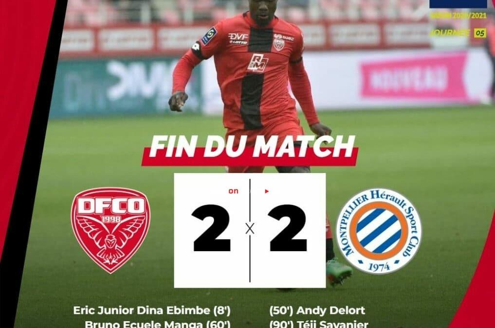 Video destacado de Dijon 2-2 Montpellier - Ligue 1 de Francia