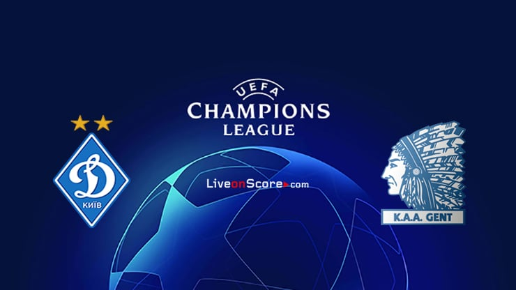 Dyn. Kyiv vs Gent Preview and Prediction Live Stream Champions League – Qualification 2020/21