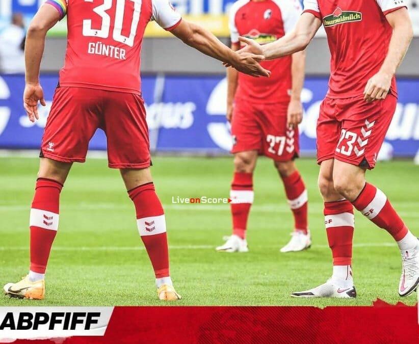 Goles y resultado Freiburg 1-1 Wolfsburg - Bundesliga