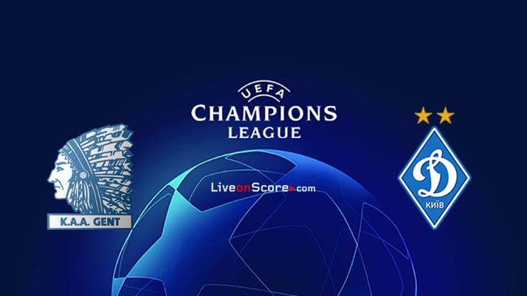 Gent vs Dyn. Kyiv Preview and Prediction Live Stream Champions League – Qualification 2020/21