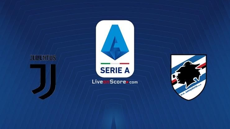 Juventus vs Sampdoria Preview and Prediction Live stream Serie Tim A 2020/21