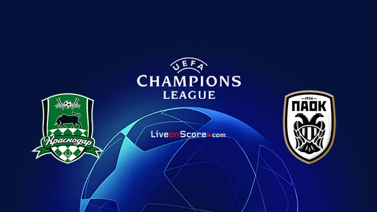 Krasnodar Vs Paok Preview And Prediction Live Stream Champions League Qualification 2020 21
