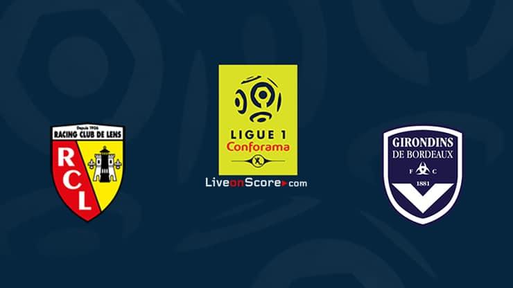 Lens vs Bordeaux Previa y predicción Transmision en vivo Ligue 1 2020/21