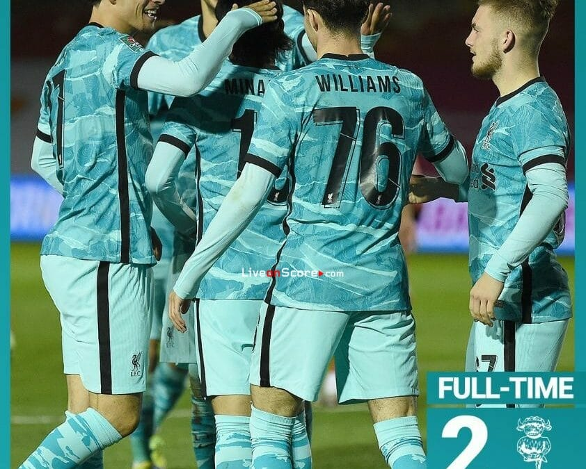 Lincoln 2-7 Liverpool Full Highlight Video – EPL Cup