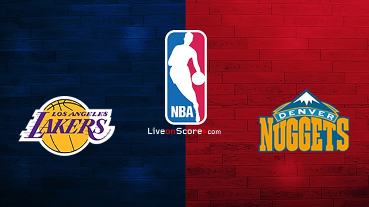 Los Angeles Lakers vs Denver Nuggets Preview and Prediction Live stream NBA Play Offs 1/2 Finals 2020