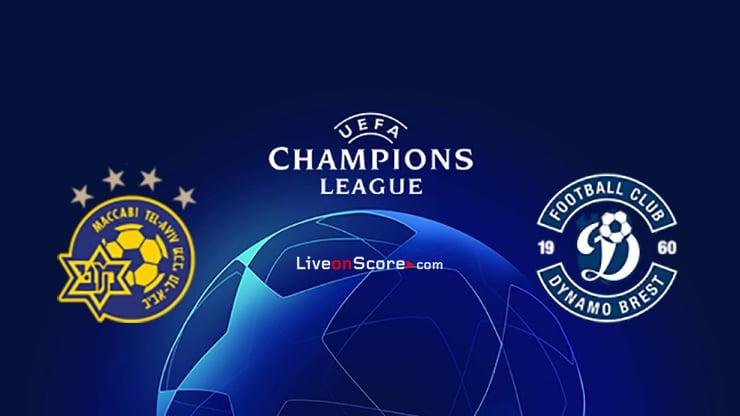 Maccabi Tel Aviv vs Dynamo Brest Preview and Prediction Live Stream Champions League – Qualification 2020/21