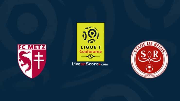 Metz vs Reims Prediccion y Pronostico Transmision en vivo Ligue 1 2020/21
