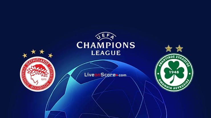 Olympiacos Piraeus vs Omonia Preview and Prediction Live Stream Champions League – Qualification 2020/21