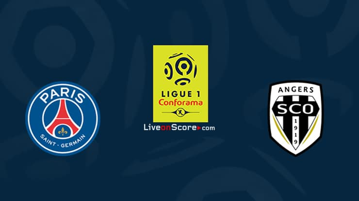 Paris SG vs Angers Prediccion y Pronostico Transmision en vivo Ligue 1 2020/21