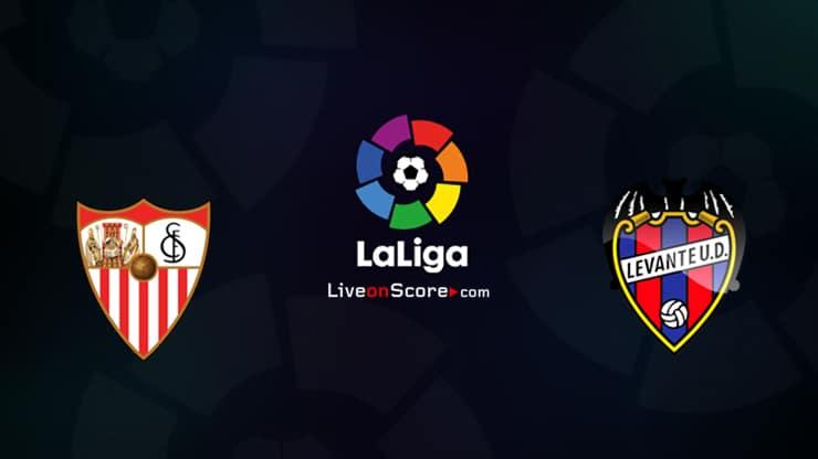 Sevilla vs Levante Preview and Prediction Live stream LaLiga Santander 2020/21