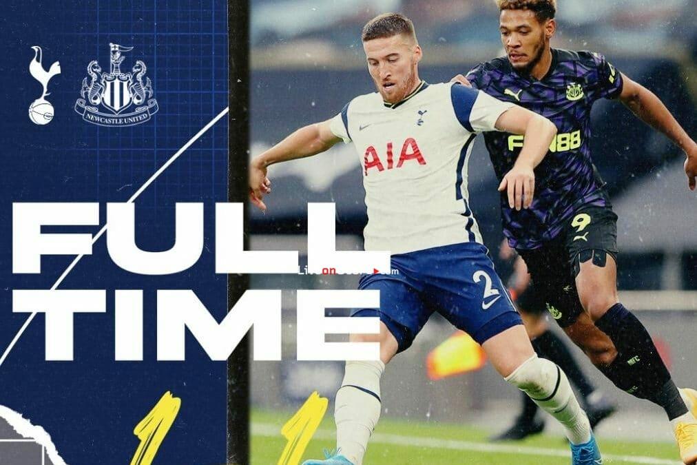 Tottenham 1-1 Newcastle Goles y resultado - Premier League