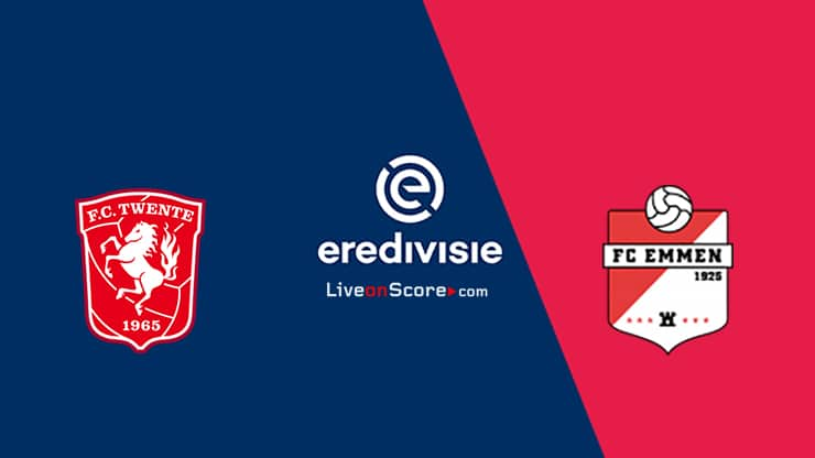 Twente vs FC Emmen Predicción y transmisión en vivo - Eredivisie 2020 / 21