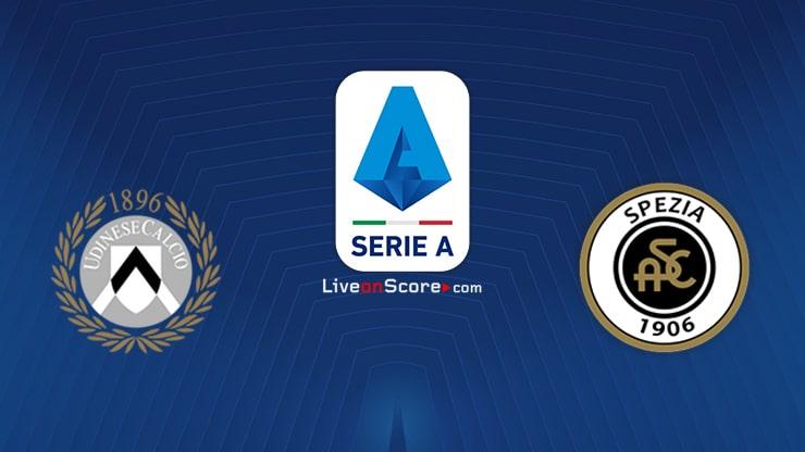 Udinese vs Spezia Preview and Prediction Live stream Serie Tim A 2020/21