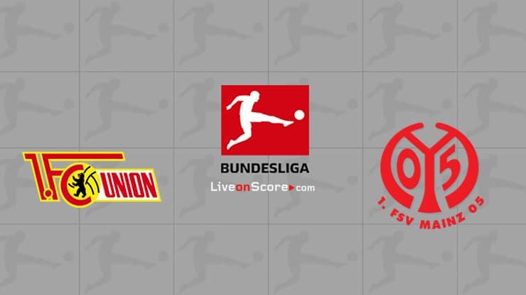 Previa y predicción Union Berlin vs Mainz Transmision en vivo Bundesliga 2020/21