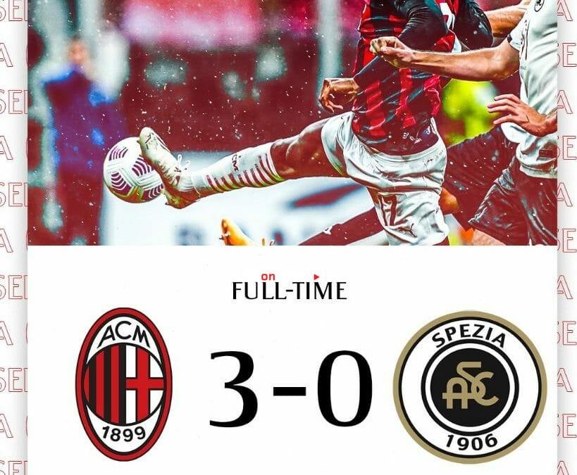 AC Milan 3-0 Spezia Full Highlight Video – Serie Tim A