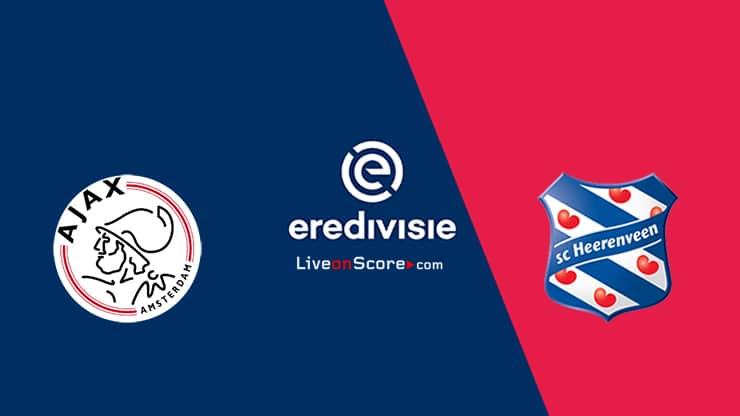 Ajax vs Heerenveen Preview and Prediction Live stream – Eredivisie 2020/21