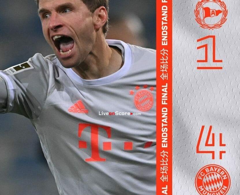 Arminia Bielefeld 1-4 Bayern Munich Full Highlight Video – Bundesliga