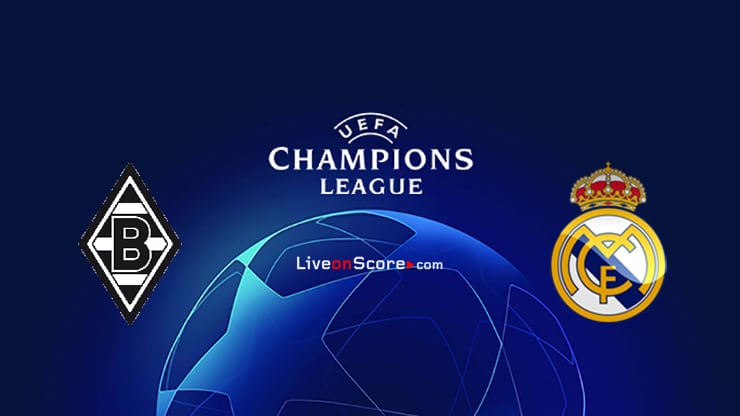 B. Monchengladbach vs Real Madrid Preview and Prediction Live stream UEFA Champions League 2020/2021