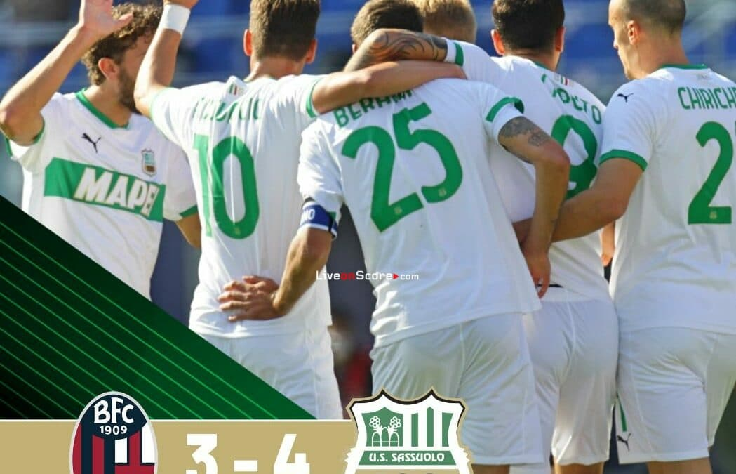 Bologna 3-4 Sassuolo Full Highlight Video – Serie Tim A