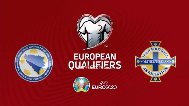 Previa y predicción Bosnia y Herzegovina vs Irlanda del Norte Transmision en vivo - Clasificación EURO 2020