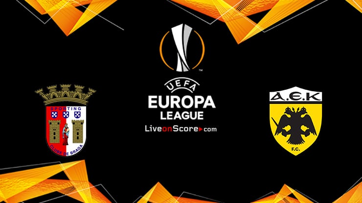 Braga vs AEK Athens FC Preview and Prediction Live stream UEFA Europa League 2020/2021
