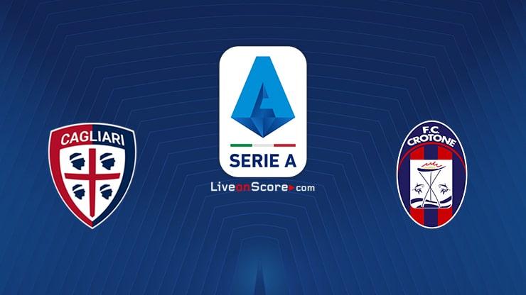 Cagliari vs Crotone Preview and Prediction Live stream Serie Tim A 2020/21