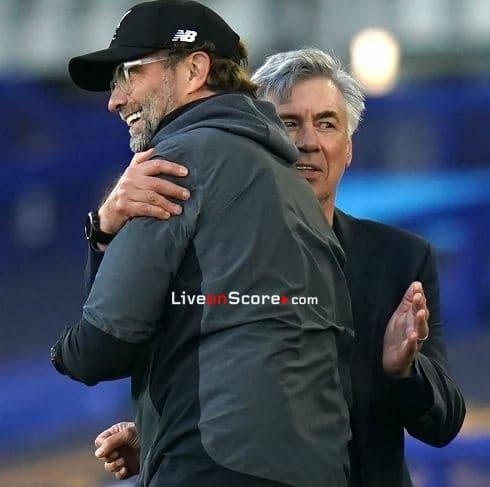Jürgen Klopp on Ancelotti, Everton's progress