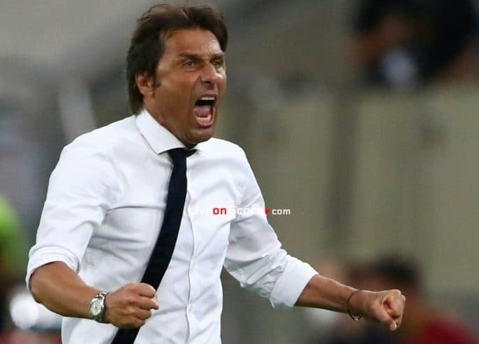 """Conte: """"We'll give our all for the Nerazzurri colours"""""""