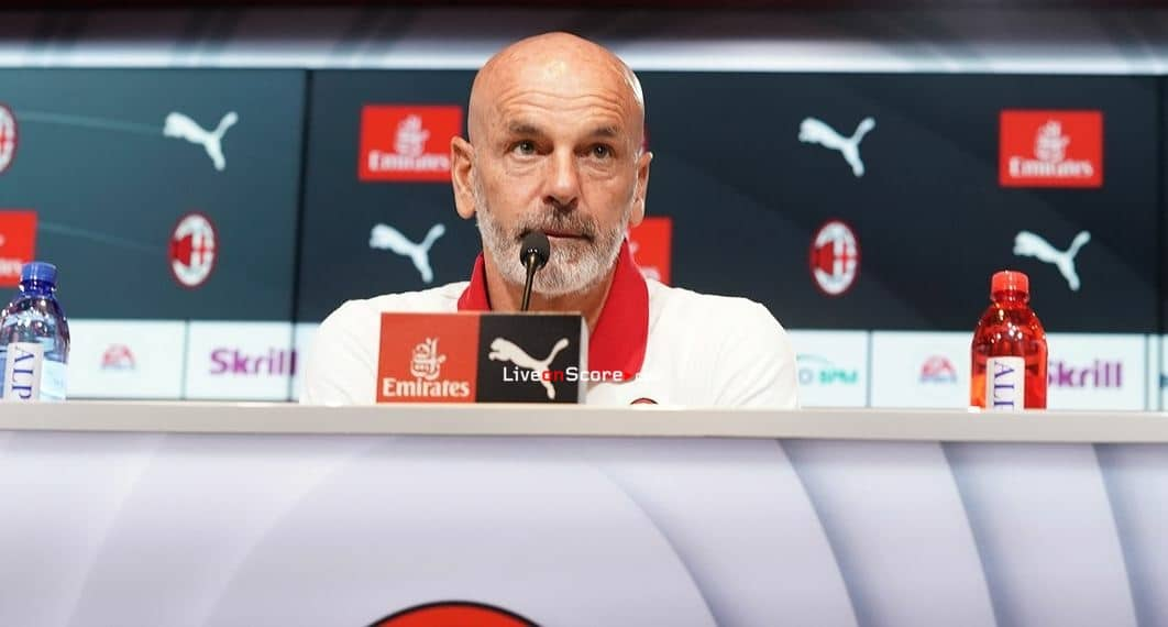 "Pioli ""it wikk be a tough test but Milan is ready"""