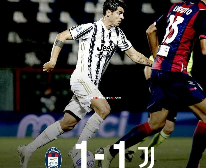 Crotone 1-1 Juventus Full Highlight Video – Serie Tim A
