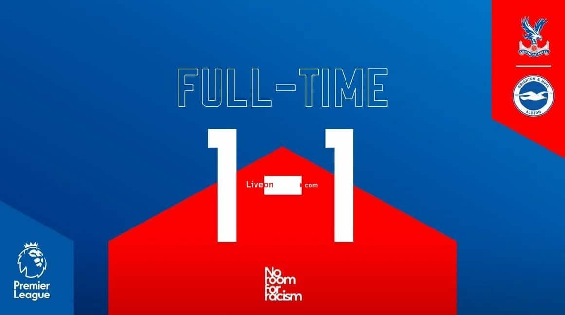 Crystal Palace 1-1 Brighton Full Highlight Video – Premier League