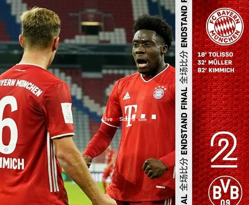 Dortmund 2-3 Bayern Munich Full Highlight Video –  Super Cup