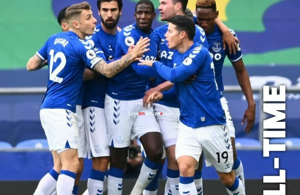 Everton 2-2 Liverpool Full Highlight Video – Premier League