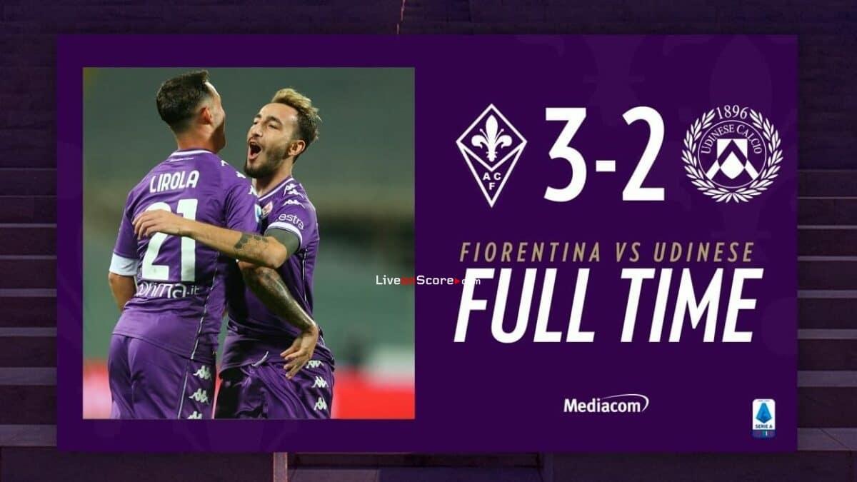 Fiorentina 3-2 Udinese Full Highlight Video – Serie Tim A