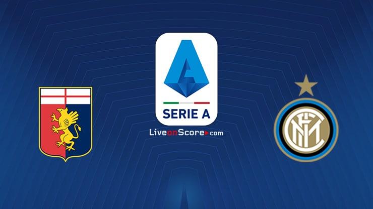 Genoa vs Inter Previa y predicción Transmision en vivo Serie Tim A 2020/21