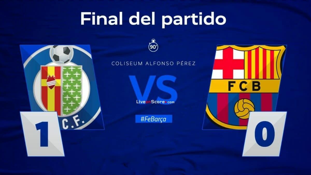 Getafe 1-0 Barcelona Full Highlight Video – LaLiga Santander