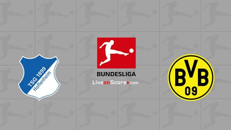 Hoffenheim vs Dortmund Preview and Prediction Live stream Bundesliga 2020/21