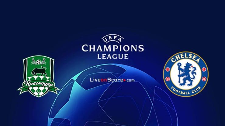 Krasnodar vs Chelsea Previa, Predicciones y Pronostico Transmision en vivo UEFA Champions League 2020/2021