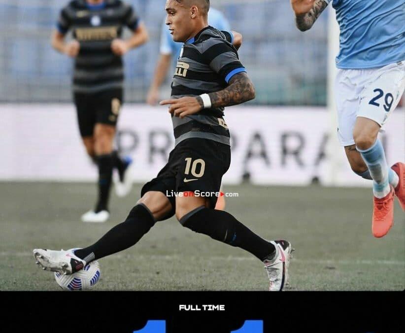 Lazio 1-1 Inter Full Highlight Video – Serie Tim A