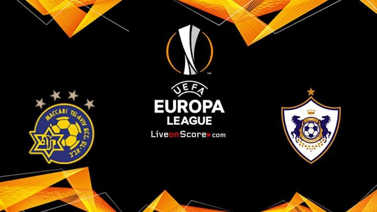Maccabi Tel Aviv vs Qarabag Preview and Prediction Live stream UEFA Europa League 2020/2021