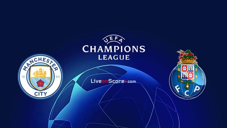 Manchester City vs FC Porto Predicción y vista previa Transmision en vivo UEFA Champions League 2020/2021