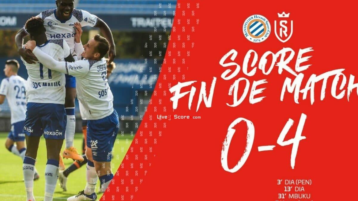 Montpellier 0-4 Reims Full Highlight Video – France Ligue 1