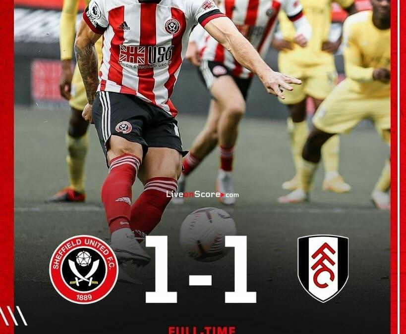 Sheffield Utd 1-1 Fulham Full Highlight Video – Premier League