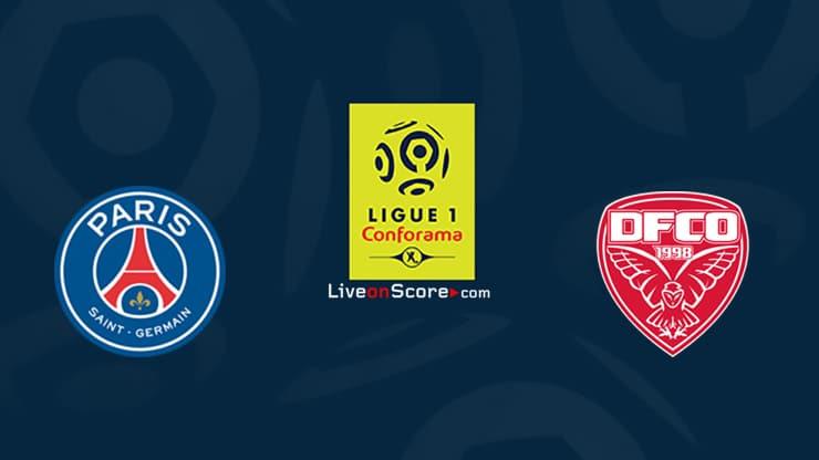Paris SG vs Dijon Preview and Prediction Live stream Ligue 1 2020/21