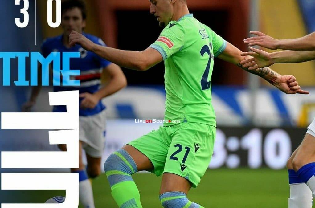 Sampdoria 3-0 Lazio Full Highlight Video – Serie Tim A