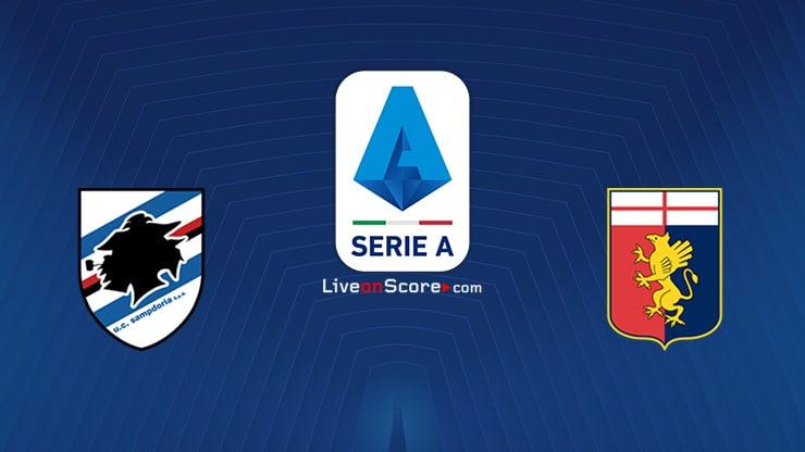 Sampdoria vs Genoa Previa y predicción Transmision en vivo Serie Tim A 2020/21