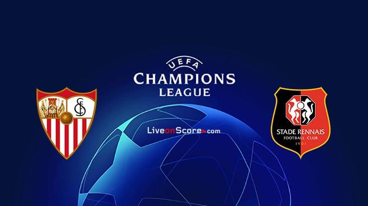 Previa y predicción Sevilla vs Rennes Transmision en vivo UEFA Champions League 2020/2021