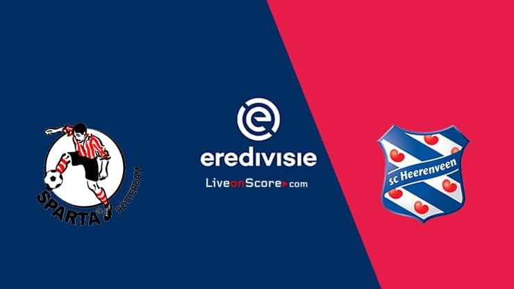 Sparta Rotterdam vs Heerenveen Preview and Prediction Live stream – Eredivisie 2020/21